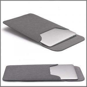 wholesale macbook case leather grey