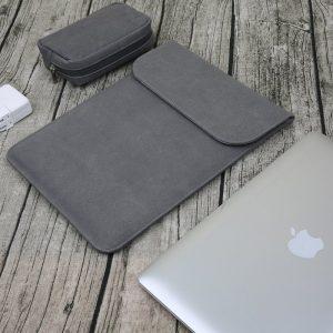 wholesale macbook sleeve case nubuck leather