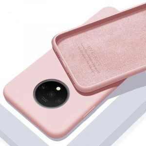 oneplus 7 silicone case pink