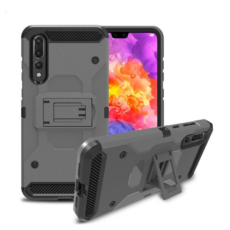 wholesale huawei phone cases -armor-grey