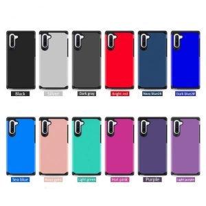 wholesale premium hybrid samsung note 10 case-12 colors