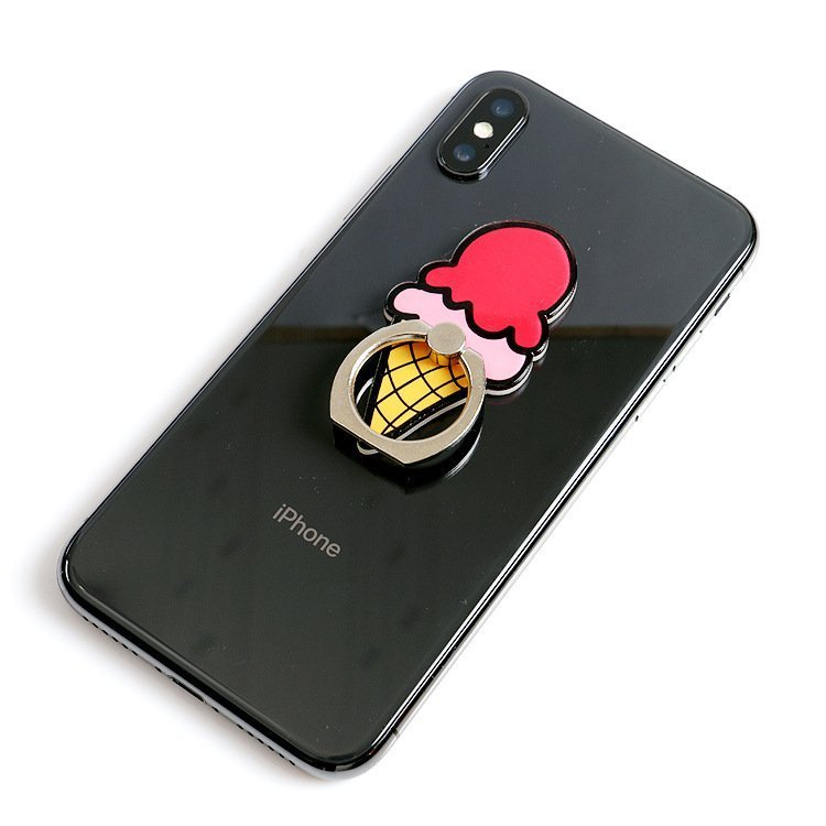 cute phone grip ring stand
