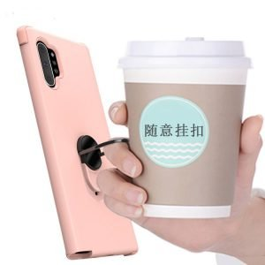 best seller of phone case for samsung with grip ring