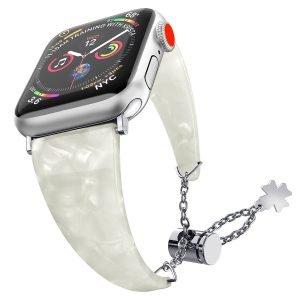 white pearl shell apple watch band-lovingcase wholesale