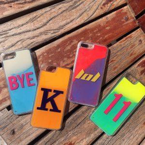 neon liquid sand iphone cases-lovingcase