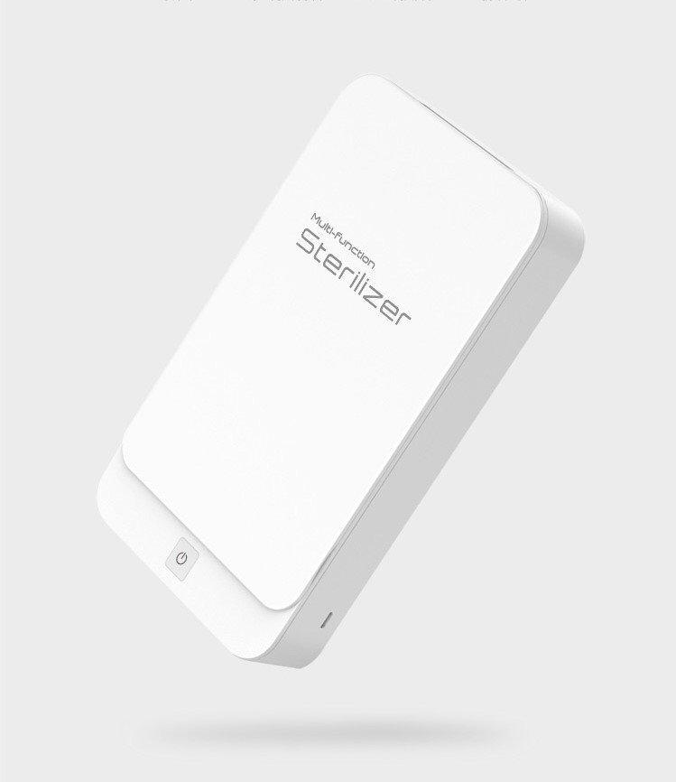 uv phone sanitizer box - white