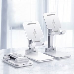 cell phone stand with wireless charging