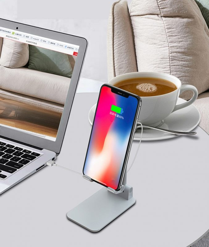 wireless charging stand for cell phone