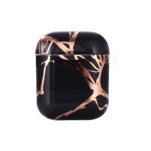 best selling airpods case-black marble-lovingcase-01
