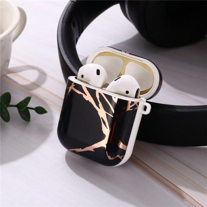 black marble airpods case wholesale, lovingcase