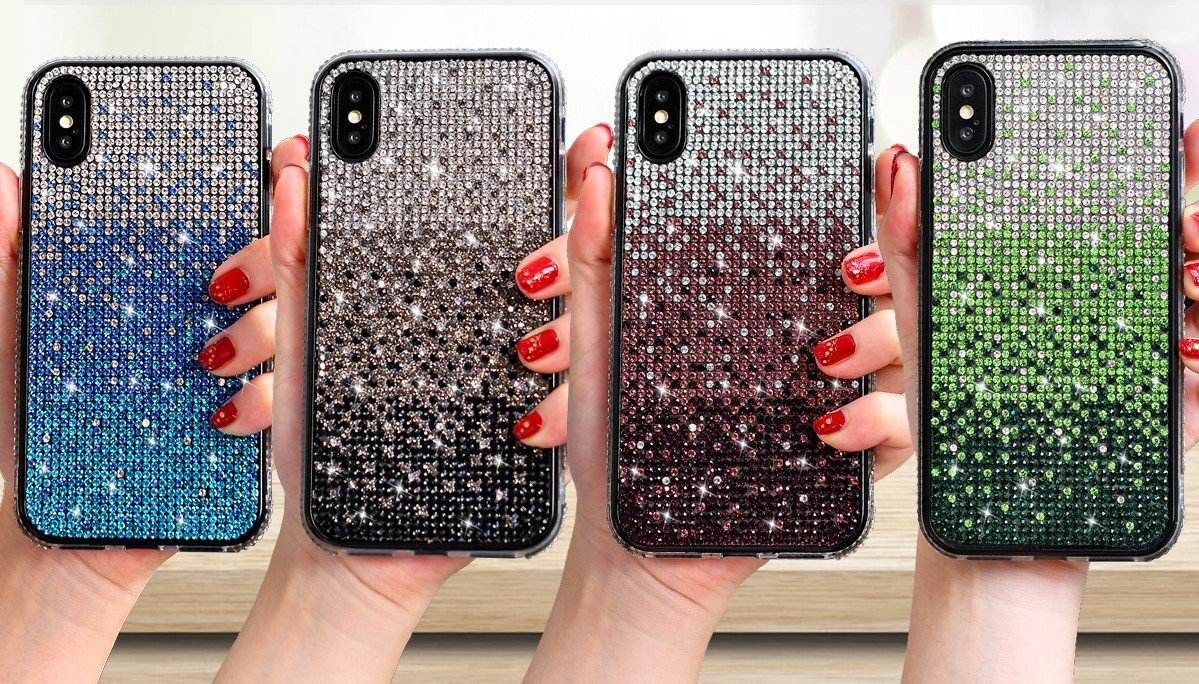 bling glitter cell phone cover | wholesale