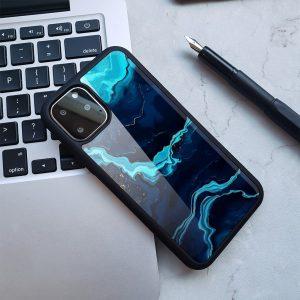 navy marble iphone cases wholesale - lovingcase
