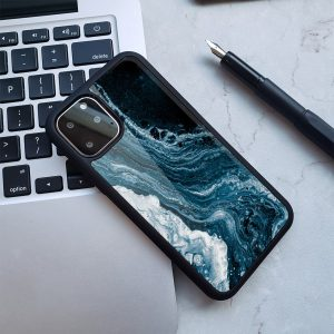 navy blue river marble iphone cases / covers wholesale-lovingcase