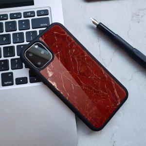 burgundy marble iphone cases - lovingcase