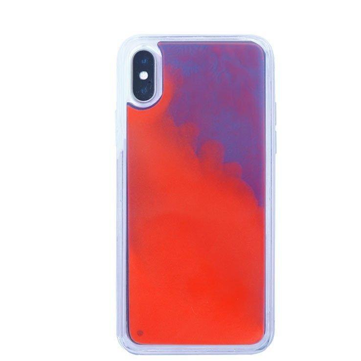 liquid sand iphone cases wholesale -red-purple