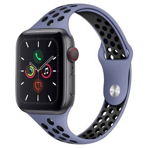 blue silicone apple watch bands, wholesale supplier