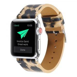 leopard apple watch band - lovnigcase wholesale
