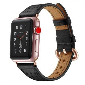 genuine leather apple watch strap