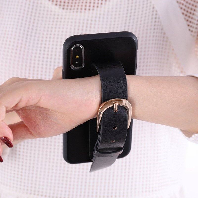 black leather iphone case wholesale & custom supplier