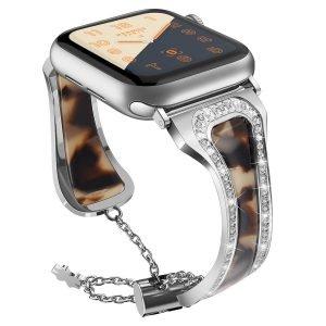 tortoiseshell apple watch band & platinum - wholesale lovingcase