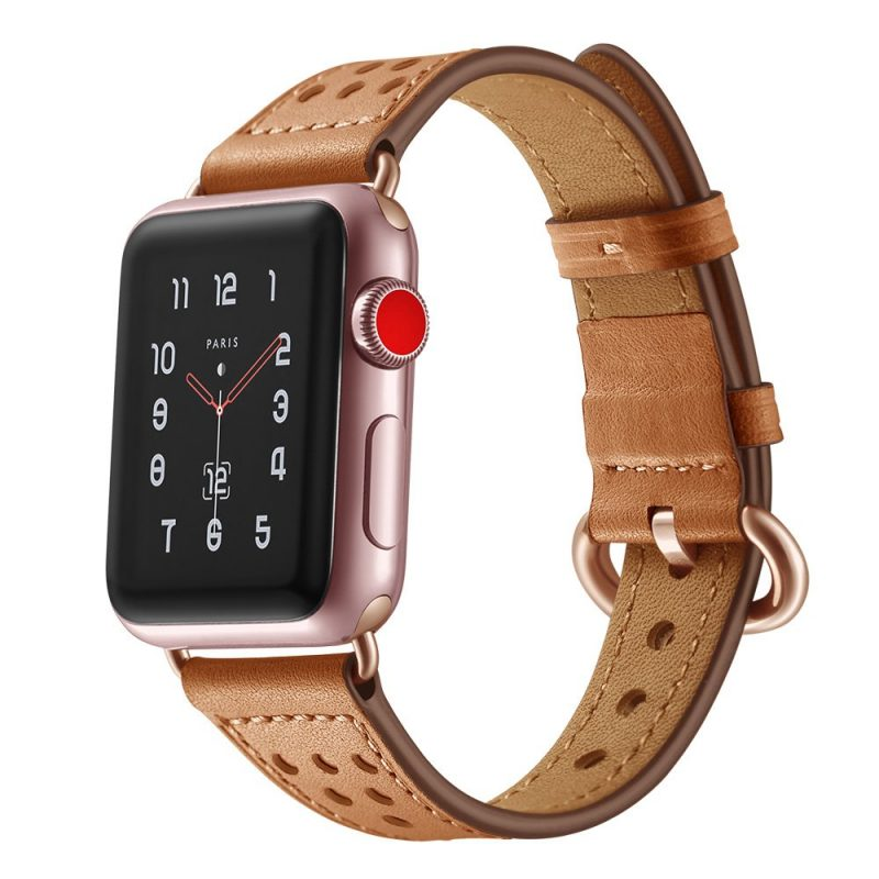 real leather apple watch band