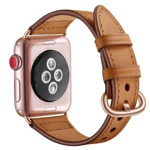 apple watch strap-real leather wholesale supplier