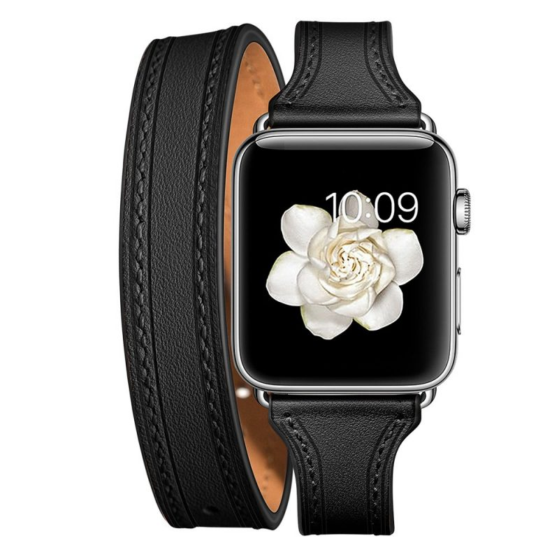 fashion leather apple watch band