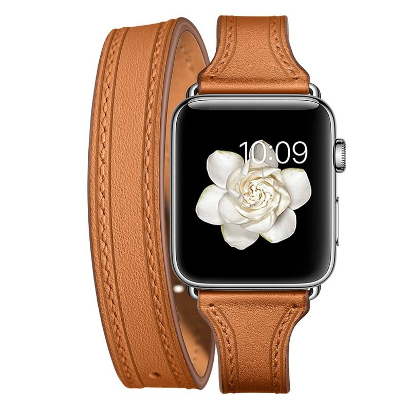 cowhide leather apple watch bands