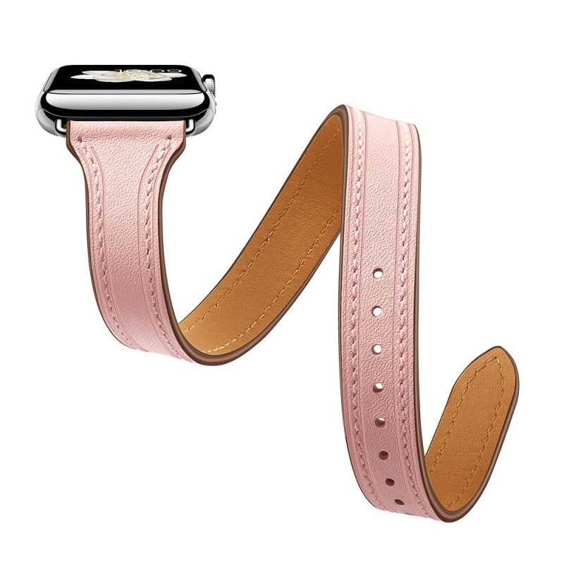 pink leather apple watch bands vendor