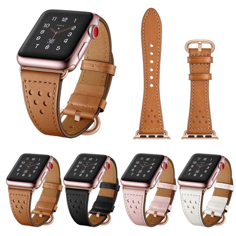 apple watch strap - leather-lovingcase