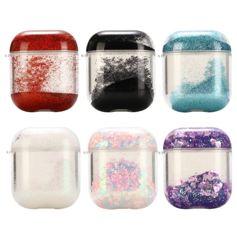 glitter airpods case 6 colors - lovingcase