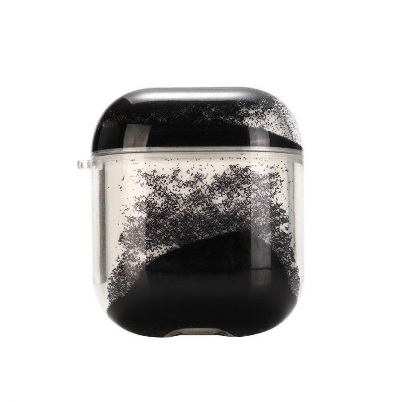 glitter black airpods case