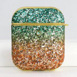 glitter bling airpods case - bluegreen-lovingcase