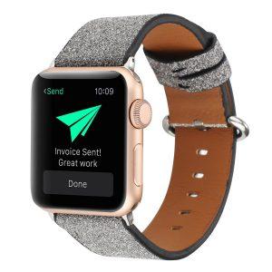 glitter black apple watch band - wholesale supplier lovingcase