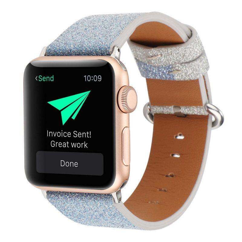 glitter blue apple watch band - wholesale lovingcase