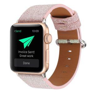 glitter pink apple watch band - wholesale supplier
