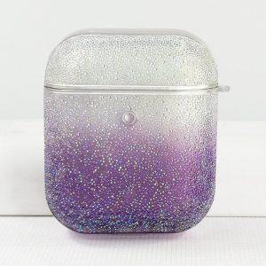 purple glitter airpods case - lovingcase - wholesale