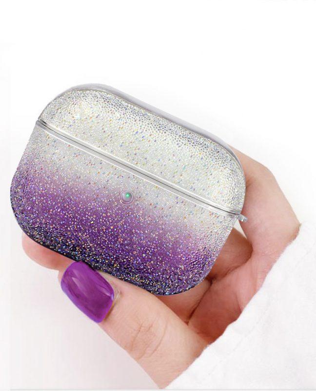 best selling glitter airpods case -lovingcase