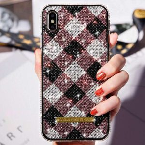 glitter iphone cases in check