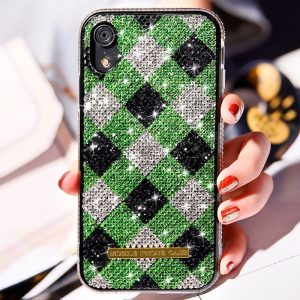 green blingbling iphone cases