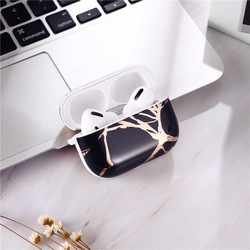 black marble airpods pro case - lovingcase wholesale