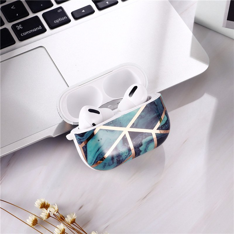 airpods pro case in marble wholesale - lovingcase