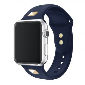 navy studded strap- apple watch bands wholesale