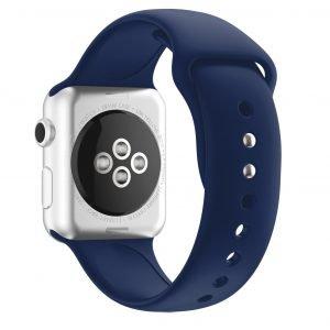 navy silicone strap- apple watch band - lovingcase wholesale