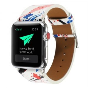 red pink blue apple watch band -lovingcase wholesale supplier