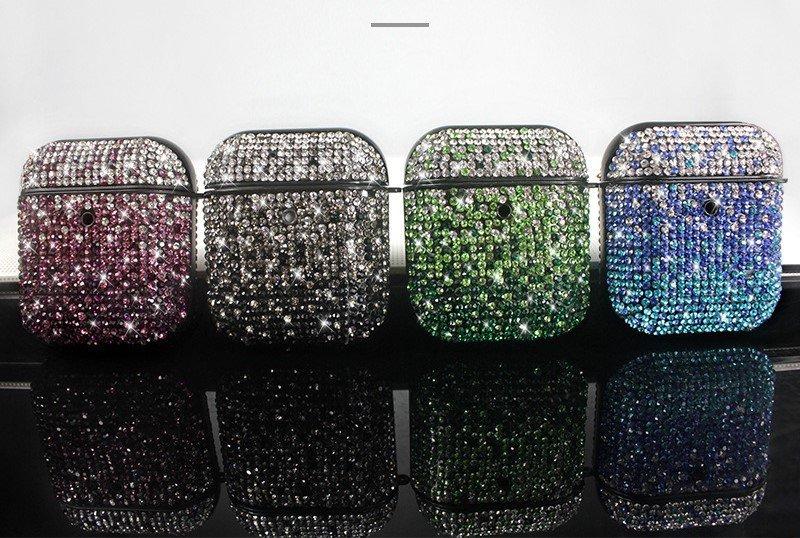 glitter rhinestone airpods case