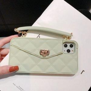avocado silicone mini handbag style - iphone case