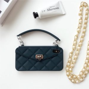 black silicone iphone case in handbag style - wholesale supplier - lovingcase