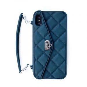 blue silicone mini handbag style - iphone cases - manufacturer