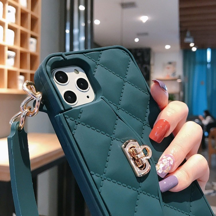 iphone 11 silicone cases in mini handbag style